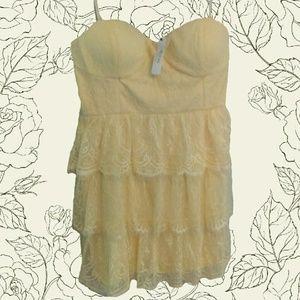 NWT Ark & Co lace dress
